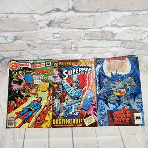 Vintage DC Comics Superman Batman Set of 3